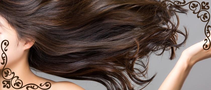 髪の毛が綺麗な女性
