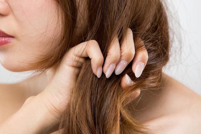 髪の毛が絡まった時の対処法