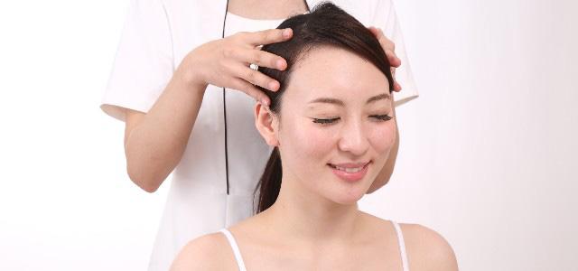 頭皮マッサージで薄毛予防!