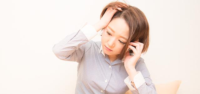 ストレスが招く恐怖。若くして女性の薄毛・白髪を招く原因