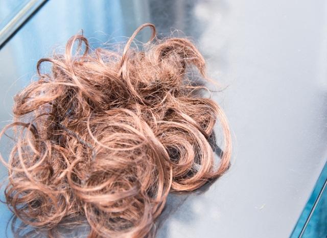 部分かつらヘアピース